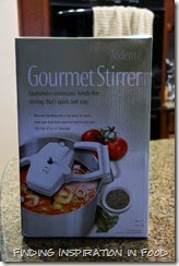 Gourmet Stirrer Review and Smoky Coconut & Butternut Squash Soup