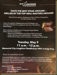 Longhorn Steakhouse Steak Master Series