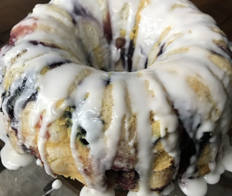 Berry Monkey Bread