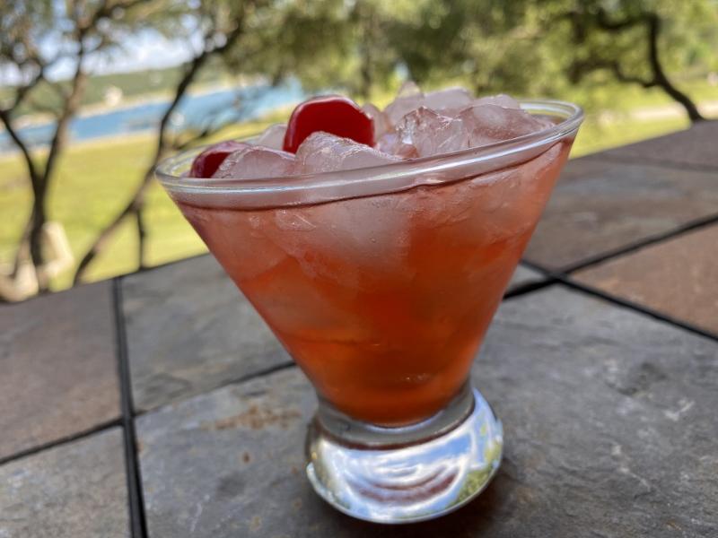 Cherry Amaretto Limeade