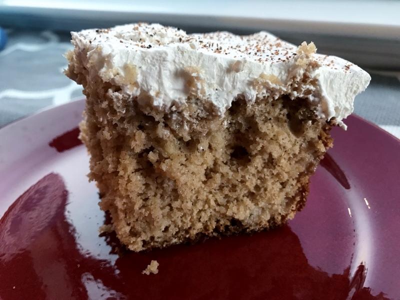 Eggnog Poke Cake Recipe