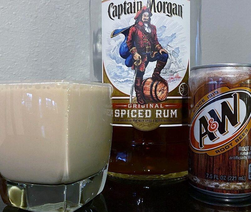 Creamy Root Beer Rum Cocktail