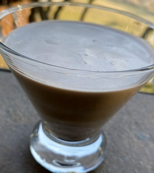 Low Carb Chocolate Martini