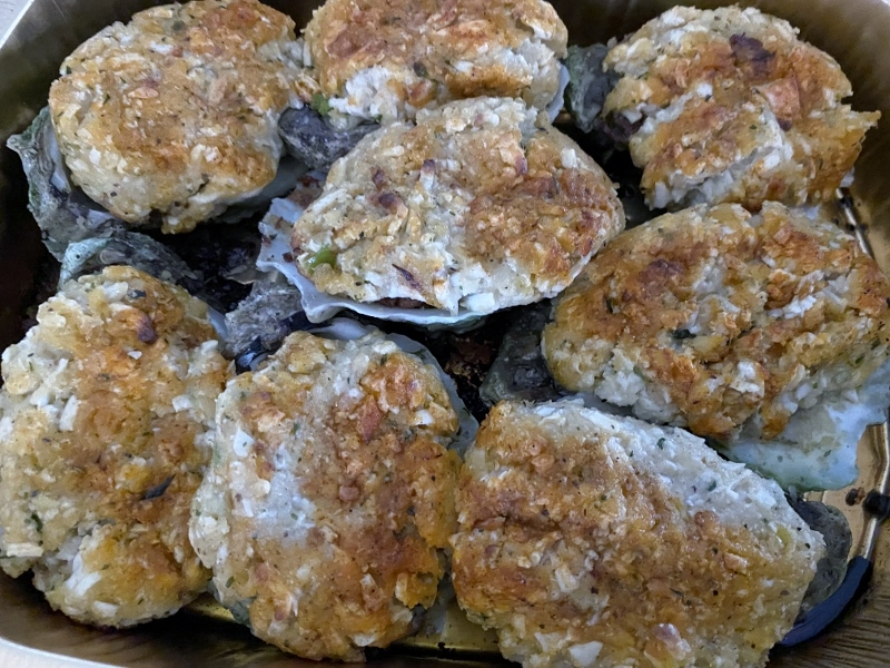 Crab Cake Oysters