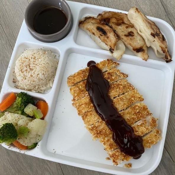 Air Fryer Japanese Chicken Cutlet